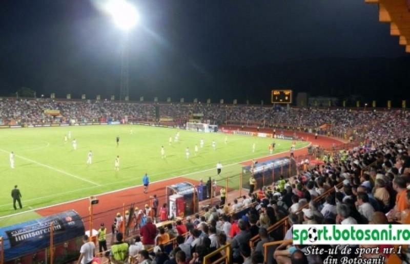 """Crainicul stadionului Ceahlaul din Piatra Neamt: """"Vedetele de la Botosani...."""""""