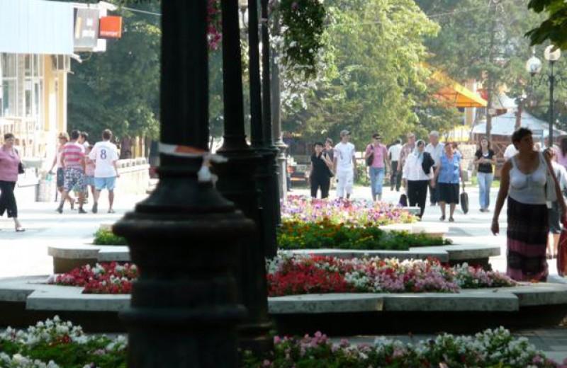 Carantinații de la Botoșani umblă brambura pe drumuri. Un tânăr se plimba ieri chiar pe Bulevardul Mihai Eminescu