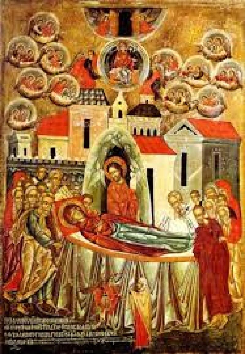 Credințe și obiceiuri la sărbătoarea Adormirii Maicii Domnului