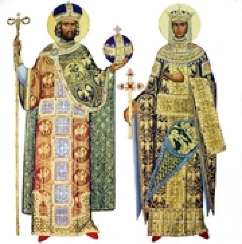 Creștinii îi cinstesc pe Sfinții Împărați Constantin și Elena - VIDEO