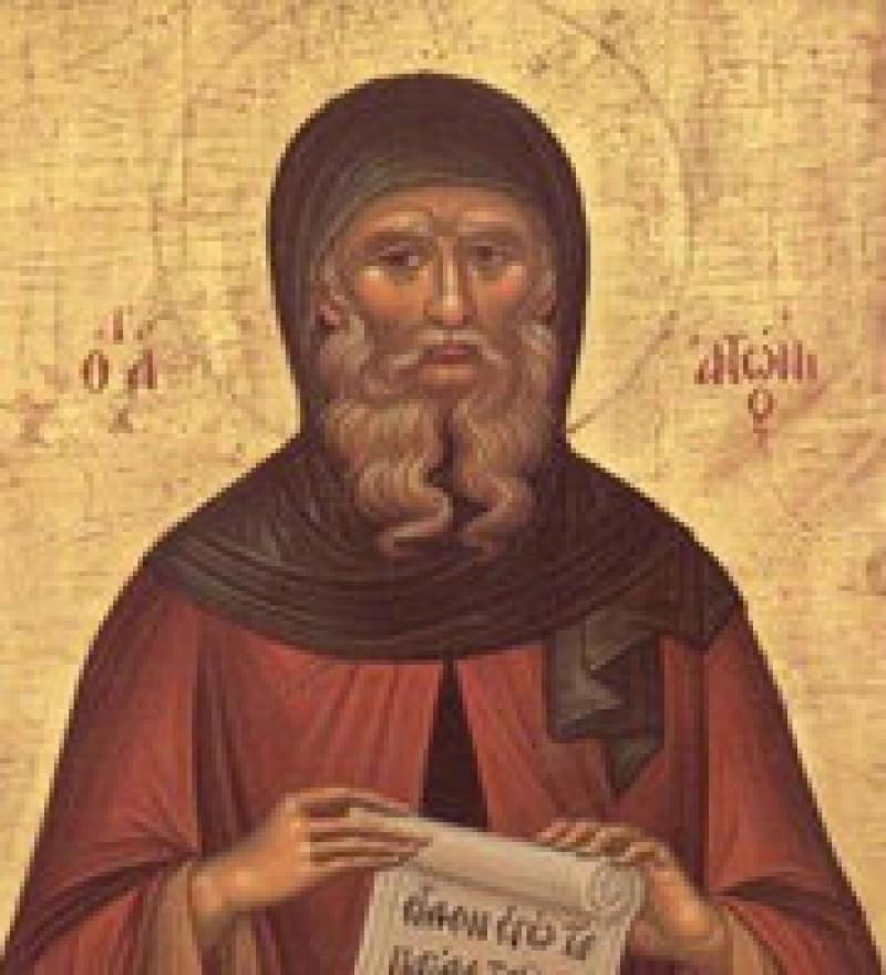Creștinii îl cinstesc astăzi pe Sfântul Antonie cel Mare - VIDEO