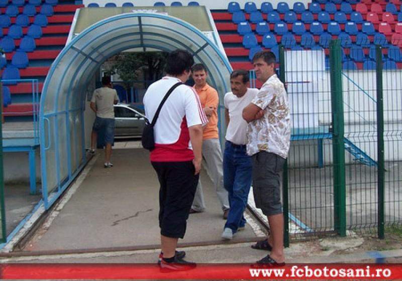 Cristi Popovici a fost prezent la reunirea lotului FC Botosani