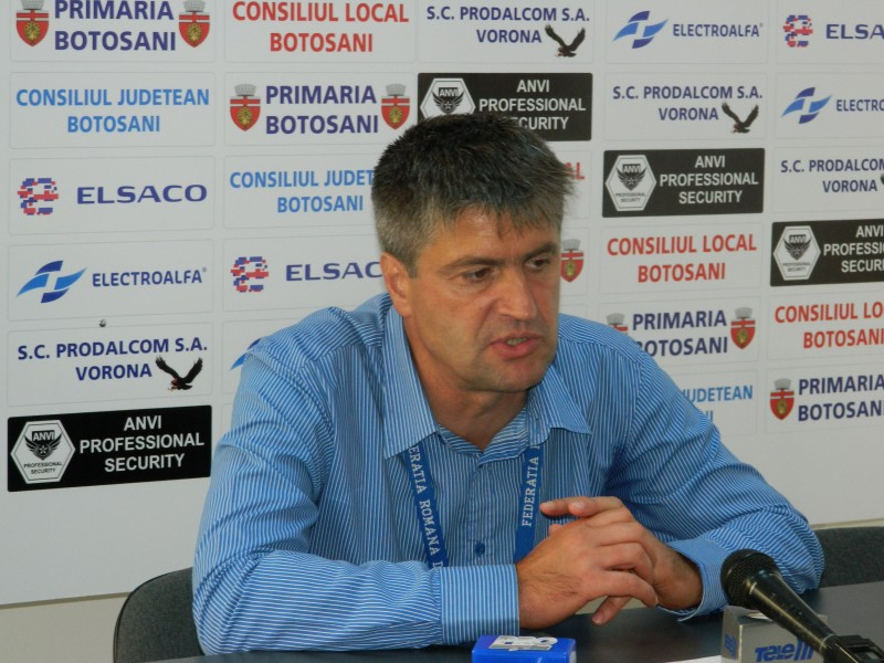"""Cristi Popovici, antrenor FC Botoșani: """"Nu vom merge la Medias sa obtinem un punct. Va fi un meci de care pe care"""""""