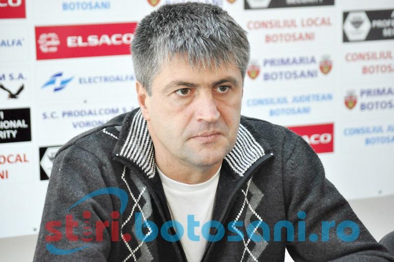 "Cristi Popovici, inaintea meciului de la Brasov: ""Astept de la baieti sa confirme forma buna"""