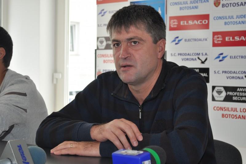 """Cristi Popovici: """"Suntem ingrijorati de numarul de goluri pe care le primim"""""""