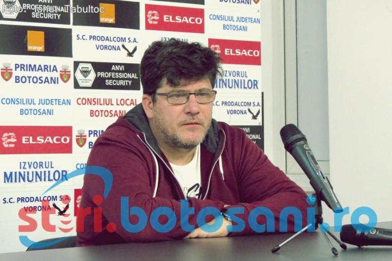 """Cristi Pustai, dupa despartirea de FC Botosani: """"Orice divort, chiar daca are si lucruri bune, este un esec"""" - VIDEO"""