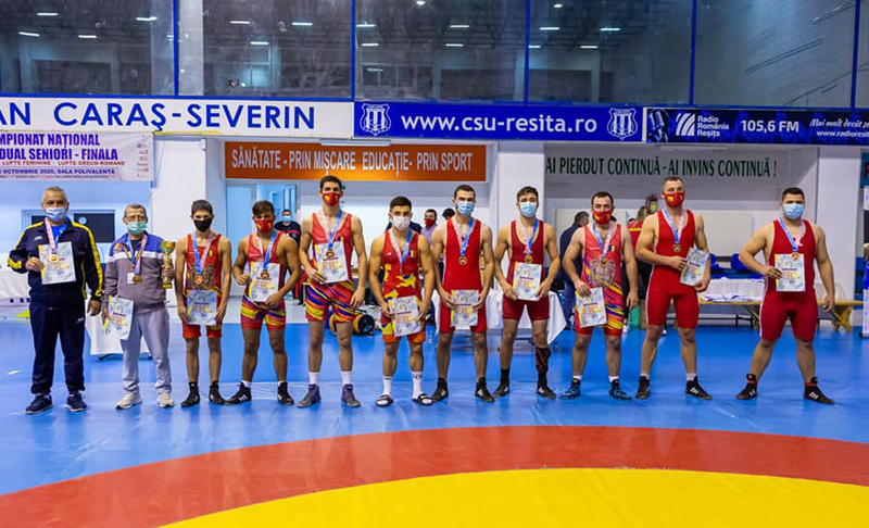 CS Botoșani: 5 medalii la Campionatul Național de lupte greco-romane, seniori