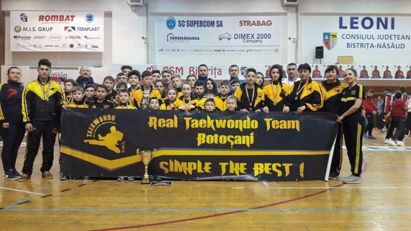CS Real Taekwondo Botosani a obtinut LOCUL 1 la Cupa Ilyo Open! FOTO