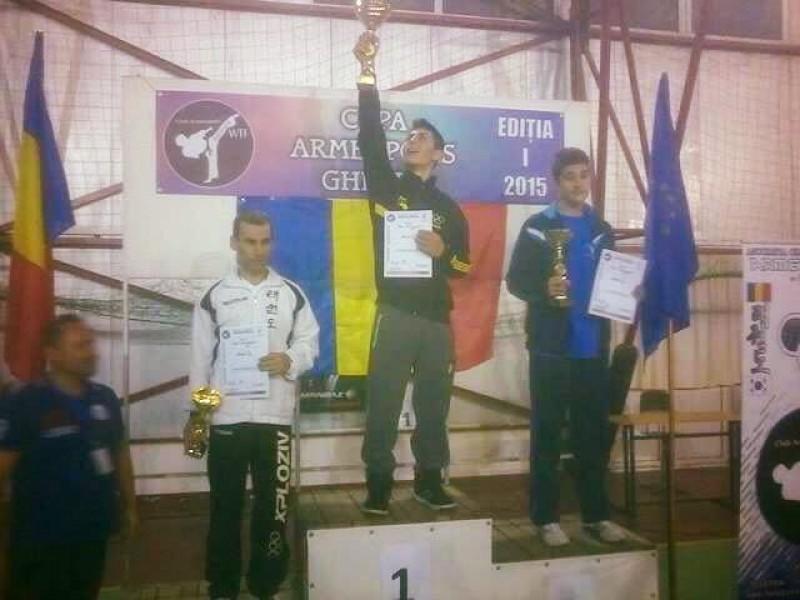 CS Real Taekwondo Team, 18 medalii la CUPEI ARMENOPOLIS - FOTO