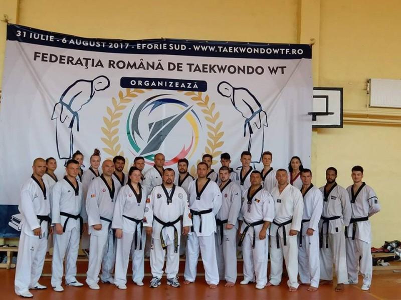 C.S. Real Taekwondo Team a reprezentat cu succes județul Botoșani la cea de a XIV-a editie a Stagiului Tehnic Național la Taekwondo W.T.F.! FOTO