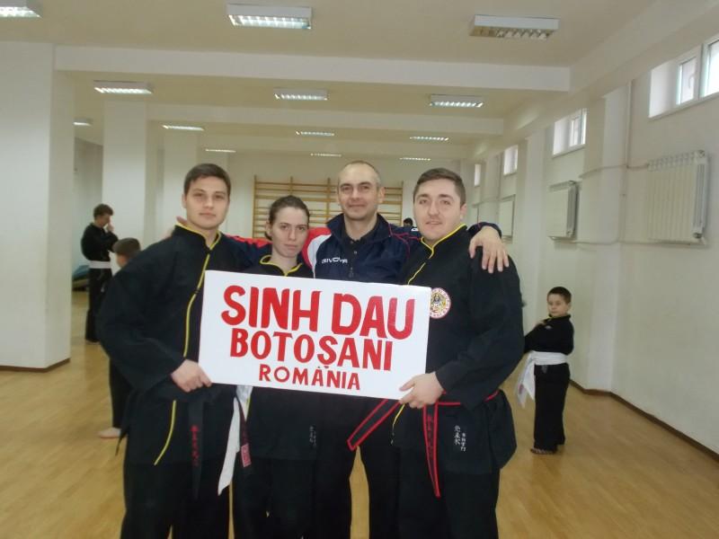 CS SINH DAU Botosani va participa in Belgia la Campionatul Mondial Intercluburi de Qwan-Ki-Do