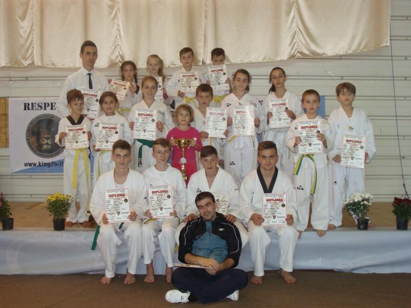 CS Total Taekwondo Botosani, LOCUL 1 la Open Lions Cup!