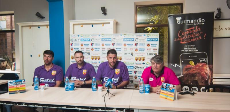 CSM Botoșani și-a prezentat noii membri. Ce așteptări au cei trei jucători