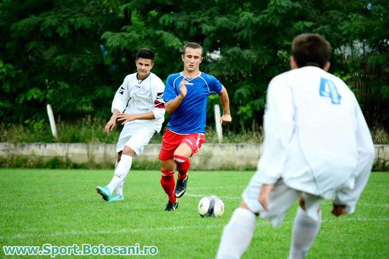 CSS Botosani `97, lider in campionatul national, dupa 4-0 cu Ceahlaul! Atacant botosanean cu 17 goluri!