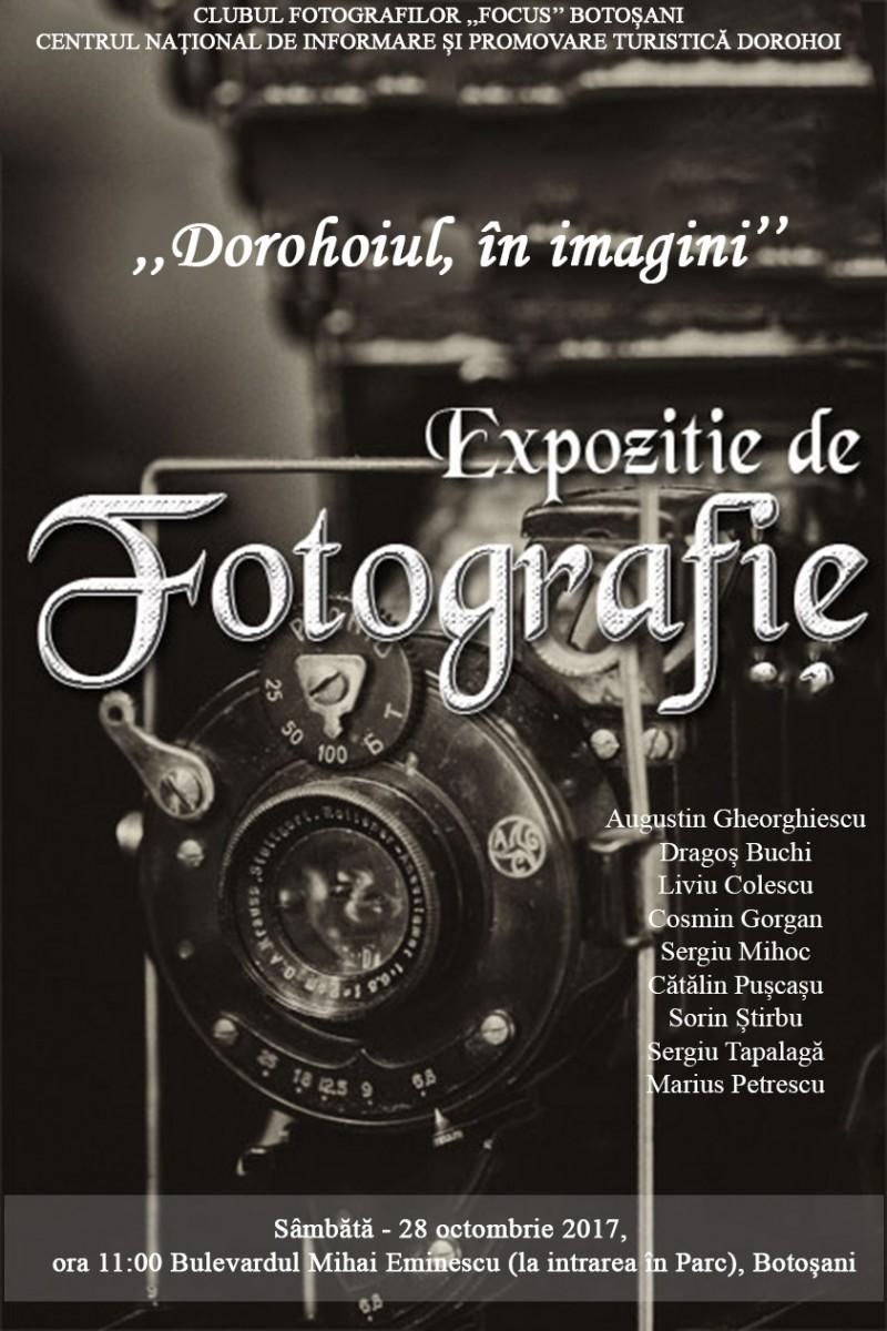 Cu fotografia, de la Dorohoi la Botoşani
