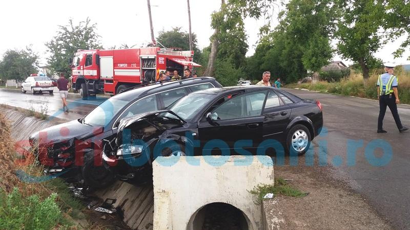 Cu ochii după pepeni: Ultimul accident de la Orăşeni, produs pe fondul neatenţiei!