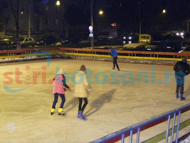 Cu un patinoar nou la Cornişa, la iarnă vom patina tot la Sala Polivalentă