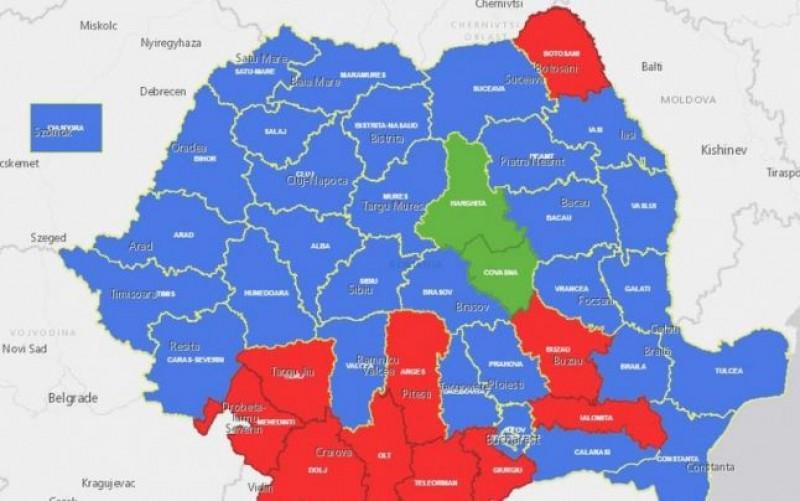 Cum a pierdut PSD controlul electoral în mai toată Moldova, exceptând Botoșani. Cifrele care arată diferenţa drastică faţă de prezidenţialele din 2014