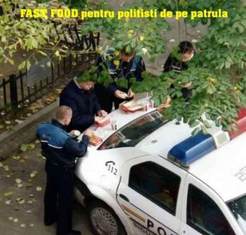 Cum intră în bucluc un poliţist! FOTO, VIDEO
