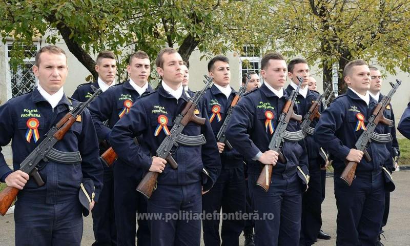 Cum poţi deveni poliţist de frontieră: 280 de locuri scoase la concurs în cadrul Şcolii de Pregătire a Agenţilor Poliţiei de Frontieră Avram Iancu Oradea