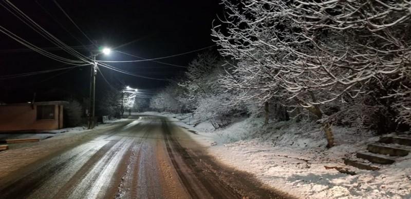 Cum se circulă pe drumurile naționale din zona Moldovei, după primul val de ninsori