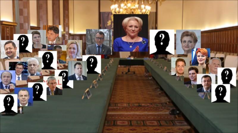 Cum va arăta noul Guvern al României. În ultima variantă nu apare numele Mihaelei Huncă!