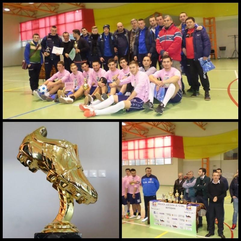 """""""CUPA DE IARNA"""", un real succes! Imagini de la festivitatea de premiere cu echipa castigatoare si cei mai buni jucatori! GALERIE FOTO"""
