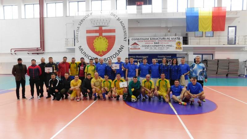 Cupa Jandarmeriei Botoșani Interinstituțională la Fotbal - FOTO