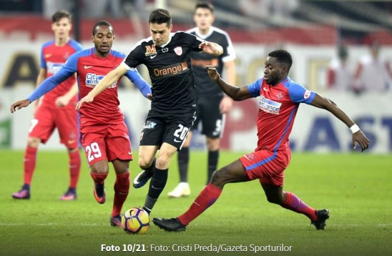 Cupa Ligii: Dinamo a castigat la scor prima mansa din semifinala cu Steaua! Alb-rosii s-au impus cu 4-1!