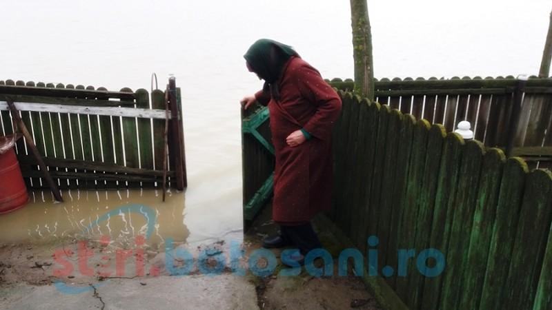 """Curţi inundate, bătrâni izolați, un imaş întreg sub ape: """"Mă tem că o să ne umplem de şerpi şi ţânţari"""" FOTO"""