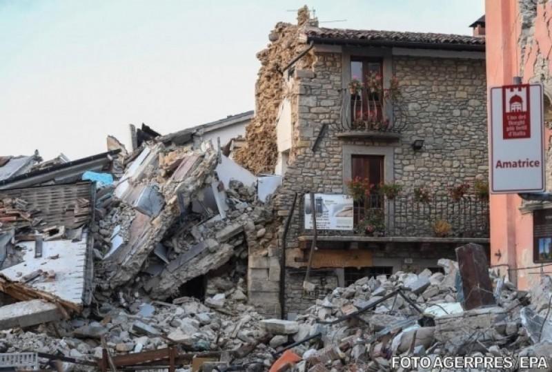 Cutremur în Italia! Seismul a avut epicentrul în zona Ascoli