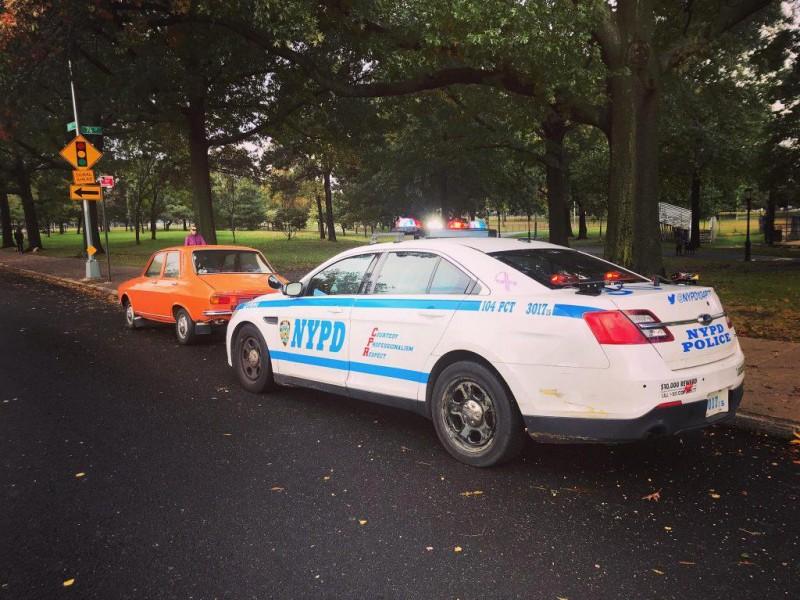 Dacia 1300 din New York a ajuns în atenția Poliției