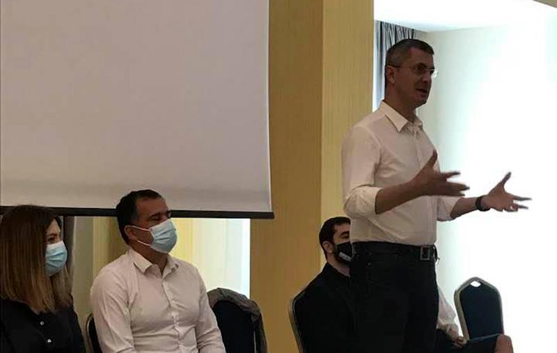 Dan Barna și încă patru lideri importanți ai USR au fost prezenți astăzi la Botoșani