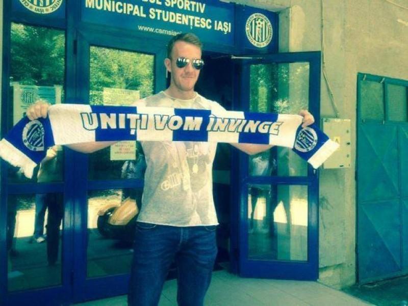 """Dan Roman a semnat cu CSMS Iasi: """"Hai FC Botosani!"""""""
