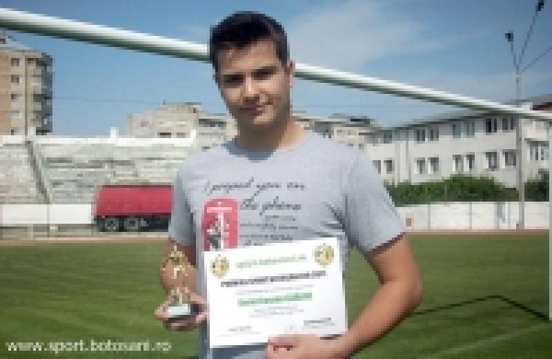 Daniel Lazaruc, cel mai bun portar din Liga a IV-a!