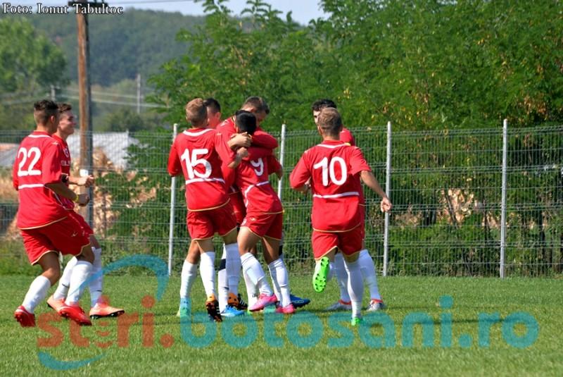 Daniel Schiopu ii duce pe juniorii de la FC Botosani, in premiera, in faza semifinala a turneului national!