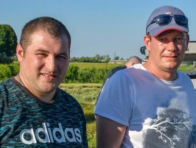 Daniel şi Alexandru, EROI ÎN ITALIA: Au salvat de la moarte doi pensionari implicați într-un accident!