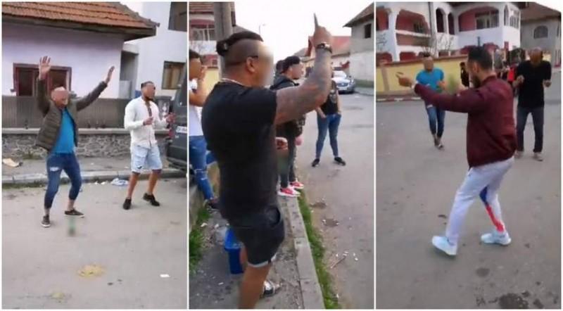 Dansuri pe manele într-un cartier din Botoșani, în plină epidemie. Polițiștii le-au stricat cheful de distracție