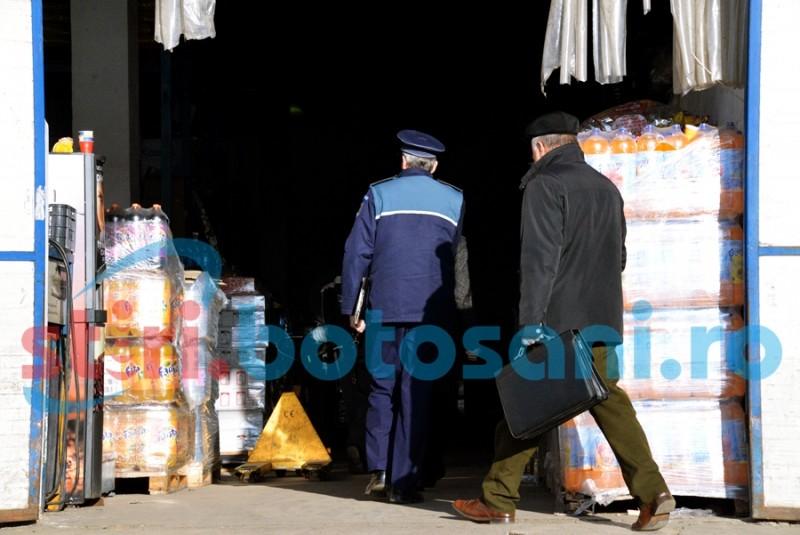 Dărăbăneni la control! Razie a Poliţiei soldată cu amenzi şi confiscări