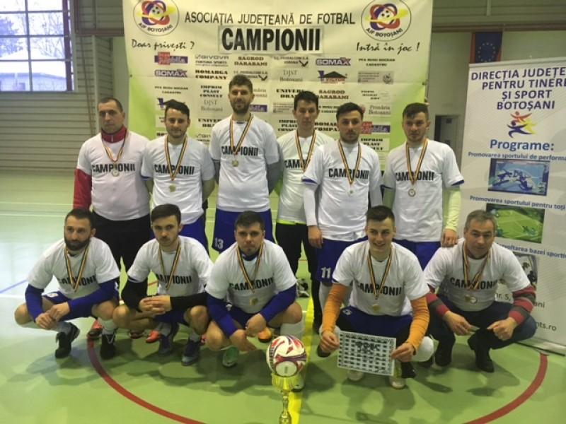 Darabaniul a câștigat Cupa de Iarnă, organizată de A.J.F. Botoșani! FOTO