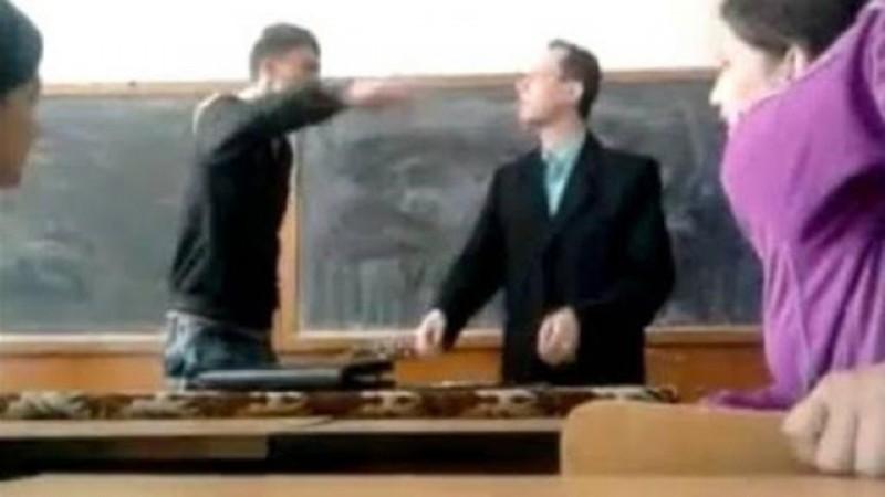 De astăzi, dacă lovești un profesor, ajungi la închisoare doi ani și jumătate!