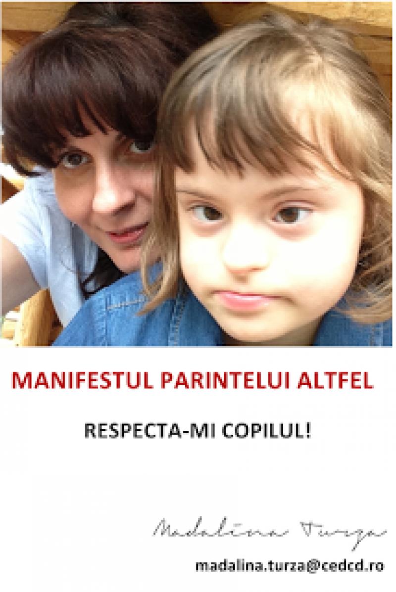 DE CITIT, DE RECITIT! MANIFESTUL PARINTELUI ALTFEL: RESPECTA-MI COPILUL!