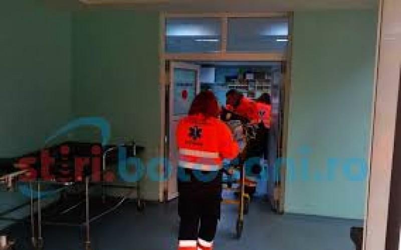 De la botez, în secția de reanimare a Spitalului Județean Botoșani!