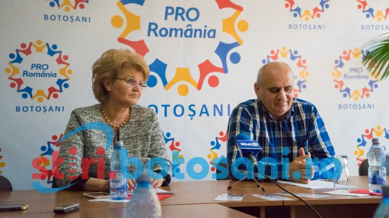 De la Botoșani se dă semnalul schimbării în bine a României!