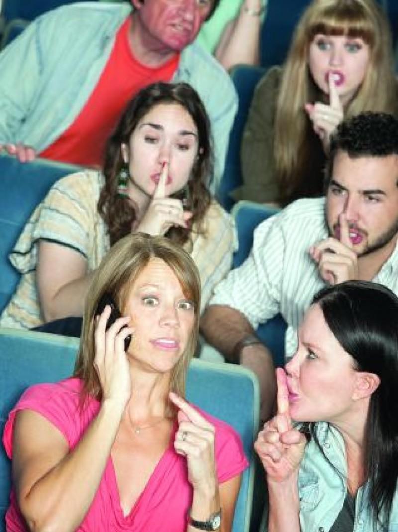 DE LUAT AMINTE: Ghid de conduită în sălile de spectacol!