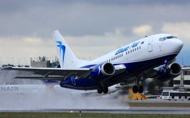 """De luni, 10 august, Blue Air va opera și de pe Aeroportul """"Ștefan cel Mare"""" de la Salcea"""
