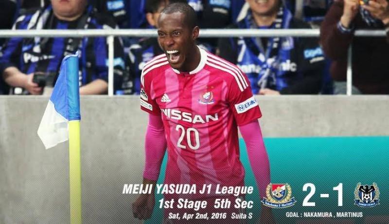 Debut spectaculos a lui Martinus in Japonia! A marcat golul victoriei celor de la Yokohama - VIDEO