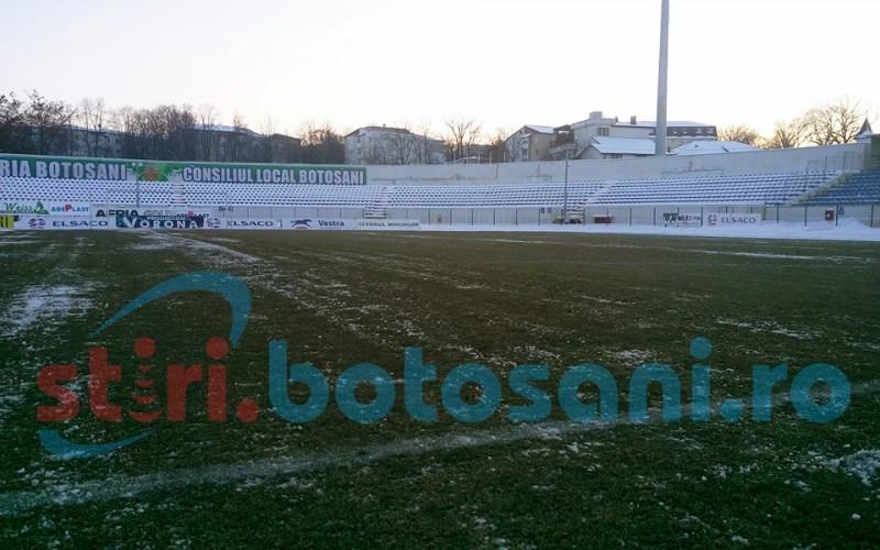 Decizie de ultima ora in cazul meciului FC Botosani - CSU Craiova! Vezi cum arata terenul cu 24 de ore inaintea partidei! FOTO, VIDEO