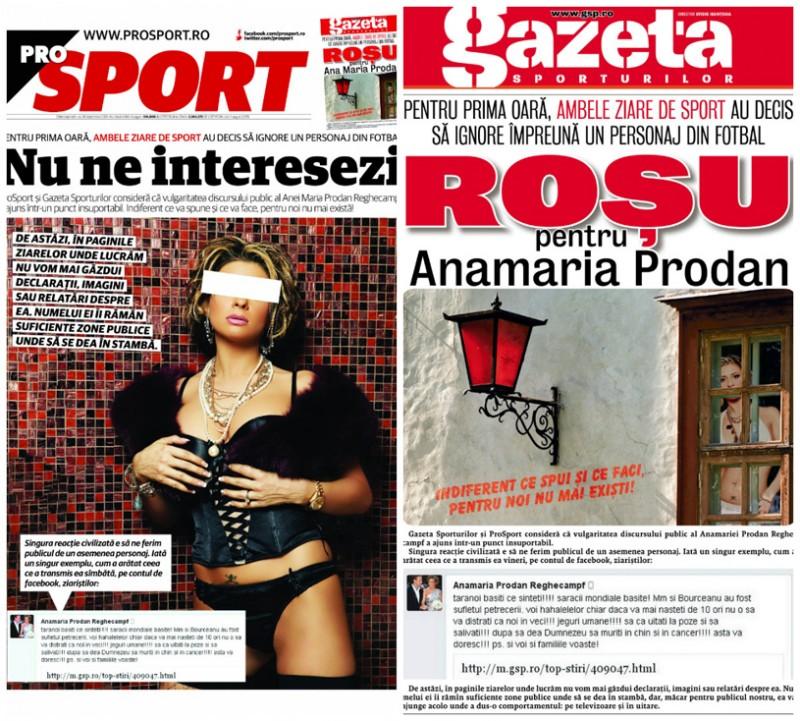 """Decizie fara precedent luata de Gazeta Sporturilor si ProSport: """"Pentru noi nu mai existi"""" - FOTO"""