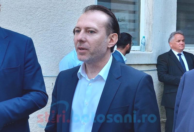 DECIZIE: PNL Botoșani îl susține la președinția PNL pe Florin Cîţu